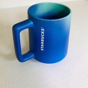 😀Starbucks blue teal gradient mug